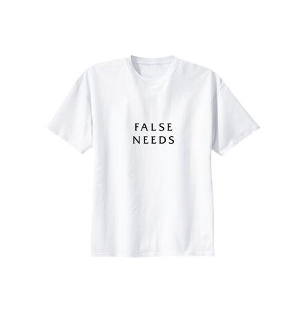 Egor Kraft, 'FALSE NEEDS', 2018