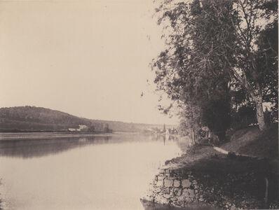 """Eugène Cuvelier, '""""La Seine a Thomery""""', ca. 1860"""