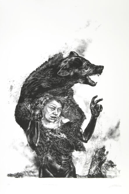 Diane Victor, 'The Boy who cried Wolf', 2019