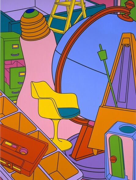 Michael Craig-Martin, 'Inhale (Yellow)', 2002