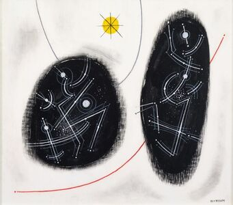 Emil Bisttram, 'Enclosed Rhythms', 1954
