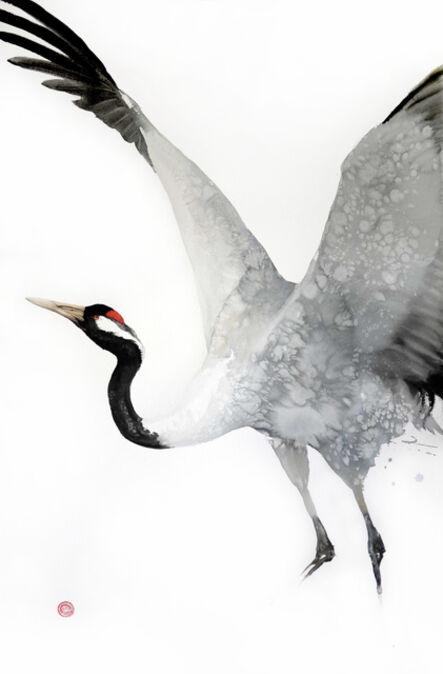 Karl Martens, 'Crane Ascending'