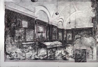William Kentridge, 'Drawing for City Deep (Johannesburg Art Gallery Interior)', 2020