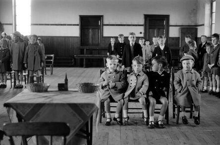 John 'Hoppy' Hopkins, 'Sunday School, Kinglassie Mining Village, Scotland', ca. 1964