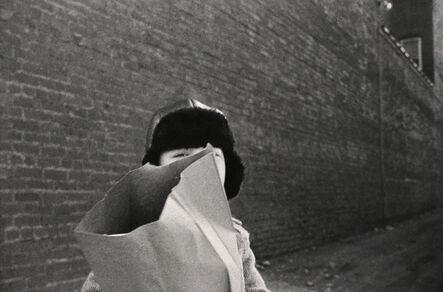 Mark Cohen, 'Hat and Bag in Alley, Mkt St Hgts', 1974