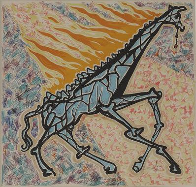 Salvador Dalí, 'Burning Giraffe', 1976