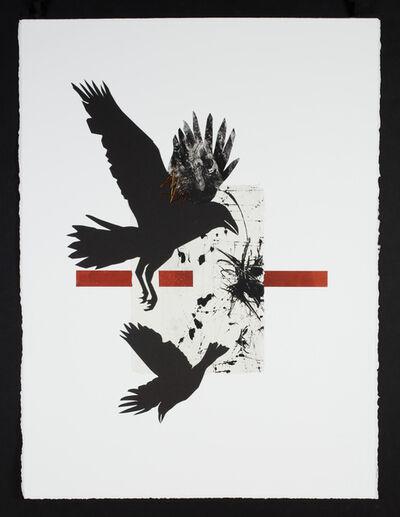 Ramona Sakiestewa, 'Raven @ the Big Bang 1', 2021