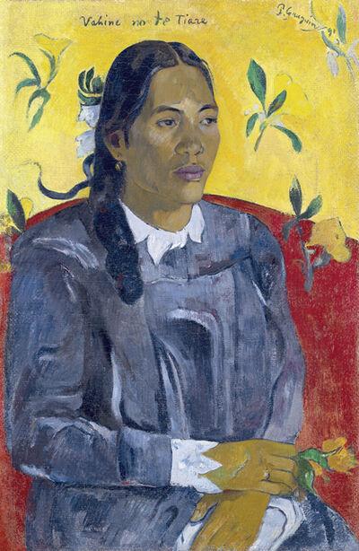 Paul Gauguin, 'Vahine no te tiare (Woman with a Flower)', 1891
