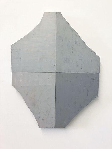 Steve Riedell, 'Diamond Painting (Gray)', 2020