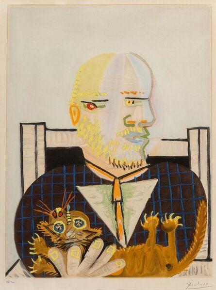 Pablo Picasso, 'Vollard et son chat', c. 1960