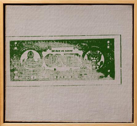 Andy Warhol, 'One Dollar Bill (Back)', 1962