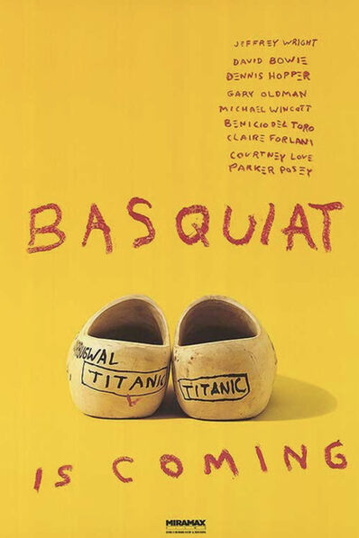 Jean-Michel Basquiat, 'Basquiat is Coming', 1996