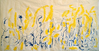 Azita Ghafouri, 'Just Blues', 2015