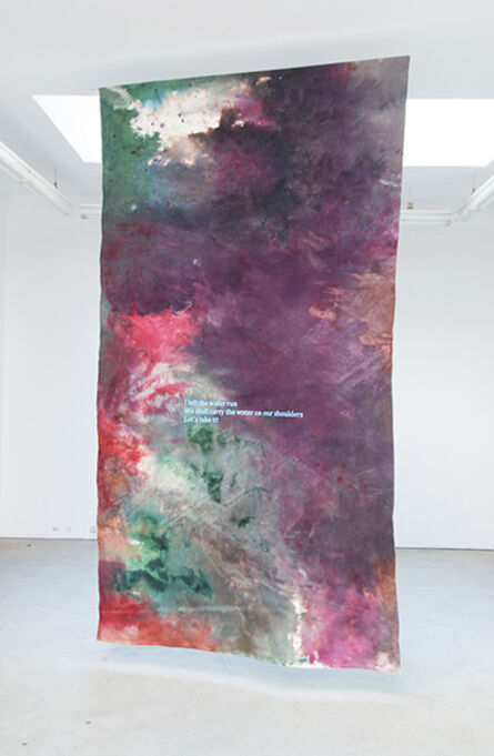 Hugo Canoilas, 'I left the water run', 2013