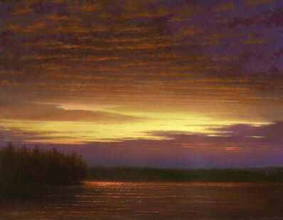 Ken Salaz, 'Symphony in Violet and Crimson', 2021