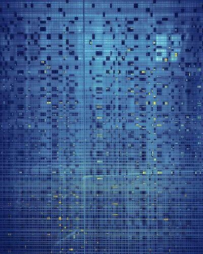 Michael Eastman, 'Blue Grid, San Francisco', 2014