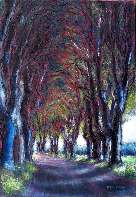 Andy Newman, 'Plane Trees Along the N86 10', 2021