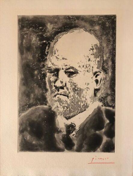 Pablo Picasso, 'Portrait de Vollard III ', 1937