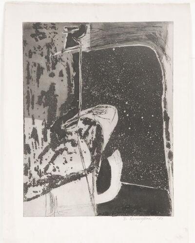 Deborah Remington, 'Untitled B&W Abstraction #4', 1951