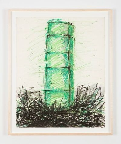 Kate Ericson and Mel Ziegler, 'Untitled (Twin Towers)', ca. 1979