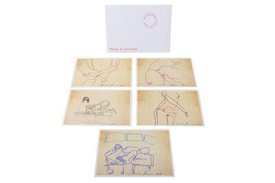 Tracey Emin, 'iPad Series of 5 Erotic Prints', 2013