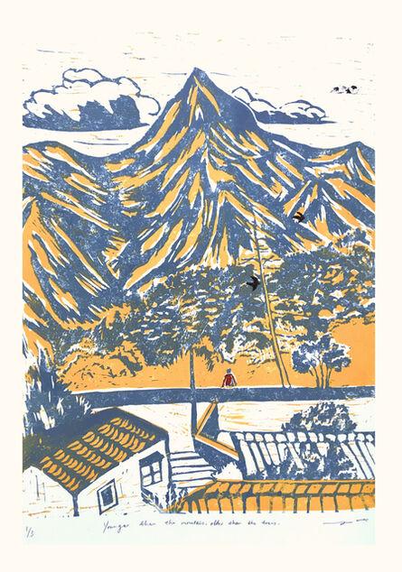 June Ho, 'Good Evening Mountain', 2019