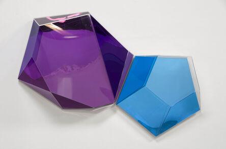 Rachel Lachowicz, 'Reflex Violet/Blue', 2013