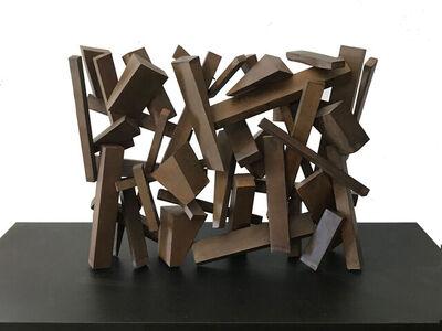 Etienne Viard, 'Pluie de Blocs', 2020