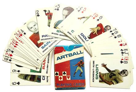 Donald Dennis Celender, 'Artball Playing Cards', 1972
