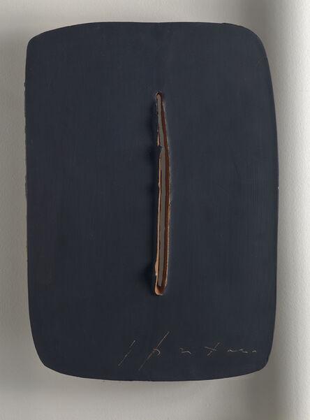 Lucio Fontana, ' Concetto spaziale, 1962-1964', 1962-64
