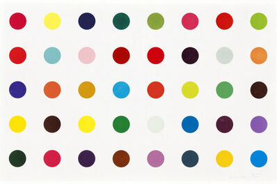 Damien Hirst, 'Methyl Phenylsulfoxide (from Spots)', 2010