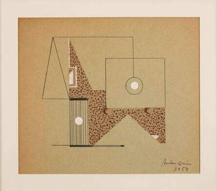 Carmelo Arden Quin, 'Decoupage-collage', 1957