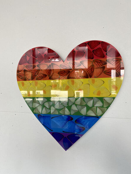 Damien Hirst, 'Butterfly Heart (Small)', 2020
