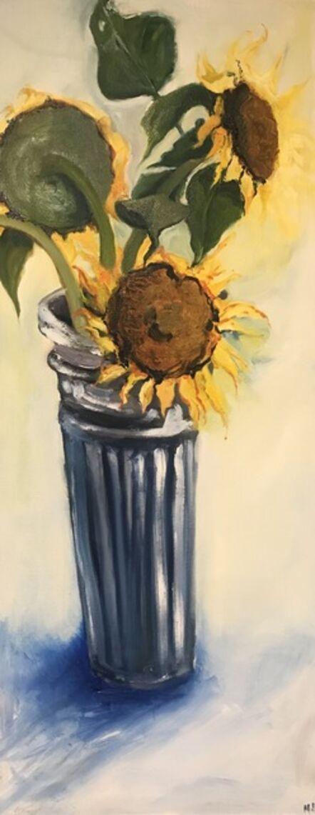 Mary Jo Lombardo, 'Sunflowers', 2020