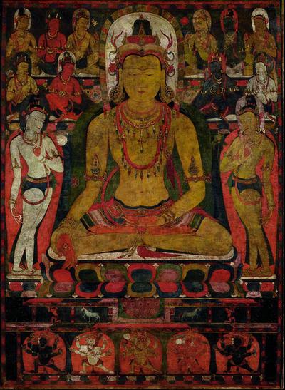 'Ratnasambhava, the Buddha of the Southern Pure Land. Tibet', late 11th century