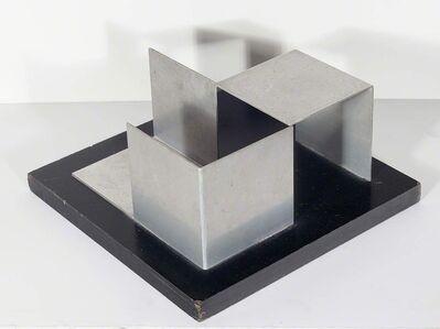Franz Weissmann, 'Cubo em cantoneiras', 1951