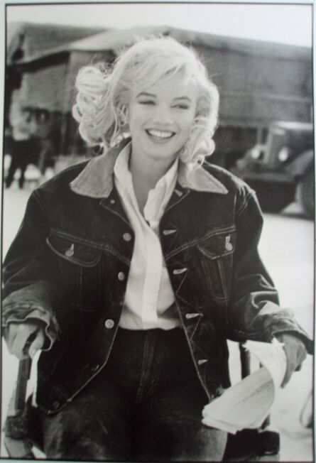 Eve Arnold, 'Marilyn Monroe during filming of The Misfits, Nevada Desert', 1960