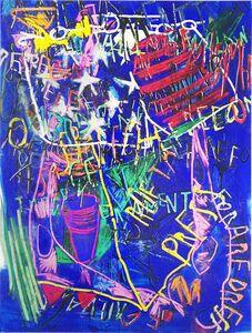 Despina Stokou, 'RGB Affirmations (blue)', 2018