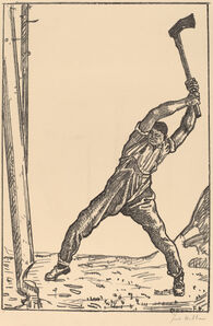 Ferdinand Hodler, 'Lumberman'