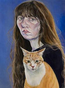 Ishbel Myerscough, 'Self-portrait with Bongo', 2018