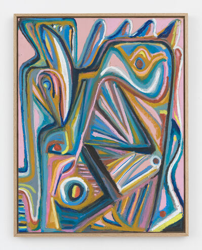 Johannes VanDerBeek, 'Pink Head', 2017
