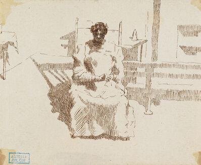 Joseph Stella, 'Seated Woman', n.d.