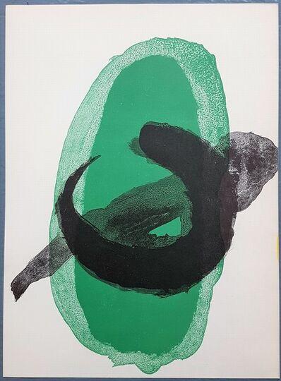 Joan Miró, 'One plate from Derrière le Miroir no. 128: Peintures Murales de Miró', 1961