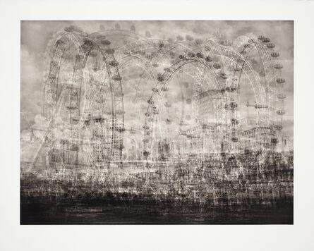 Idris Khan, 'London Eye, London', 2015