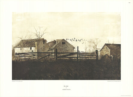 Andrew Wyeth, 'The Mill', (Date unknown)