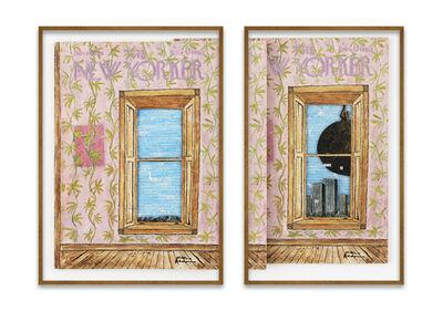 Natalie Czech, 'A window view by Anne Waldman', 2021