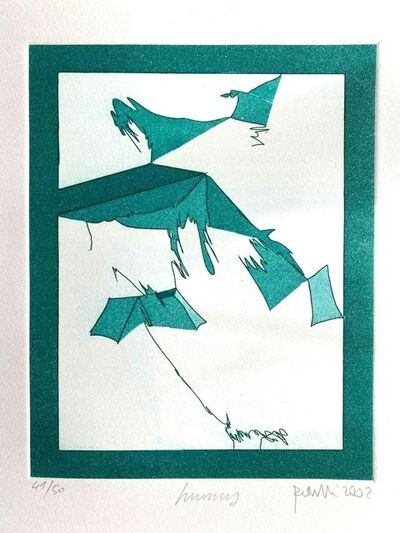 Achille Perilli, 'Mottetti ', 2002