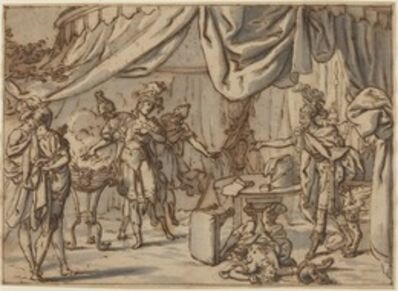 Bernardo Castello, 'Mucius Scaevola', 17th century