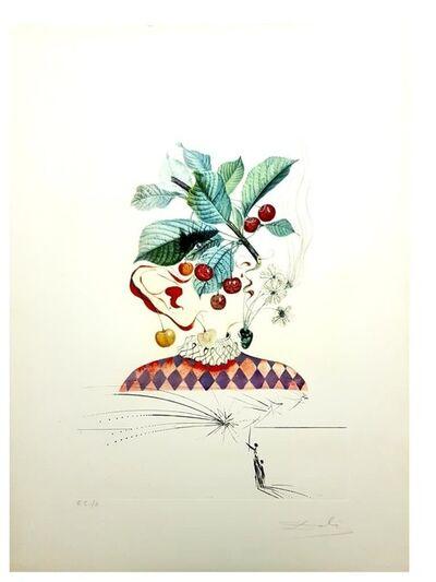 "Salvador Dalí, 'Original Lithograph ""Flordali - Cherries"" by Salvador Dali', 1969"
