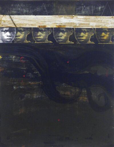 Deborah Roberts, 'Red Drips and Dark Water', 2014
